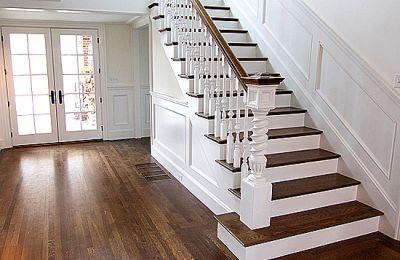 лестница забежная деревянная